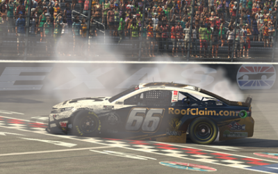 Timmy Hill wins eNASCAR Pro Invitational iRacing Series race at Texas